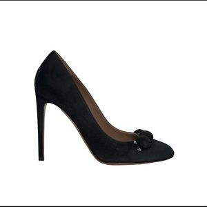 Brand New with Tags Alaia suede Bombe pump